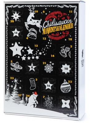 Chili Sauce Adventskalender